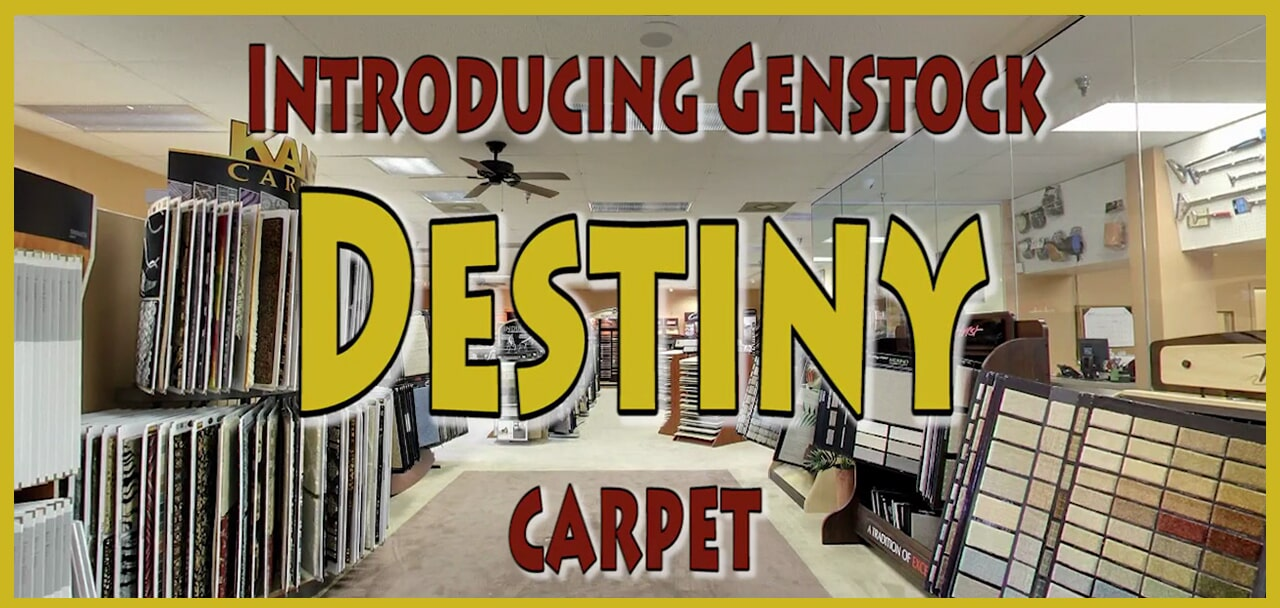 Introducing Genstock Destiny carpet from General Floor in Lancaster, PA