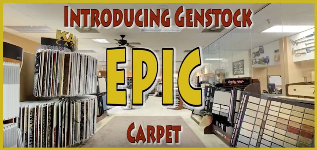 Introducing Genstock Epic carpet from General Floor in Cherry Hill, NJ