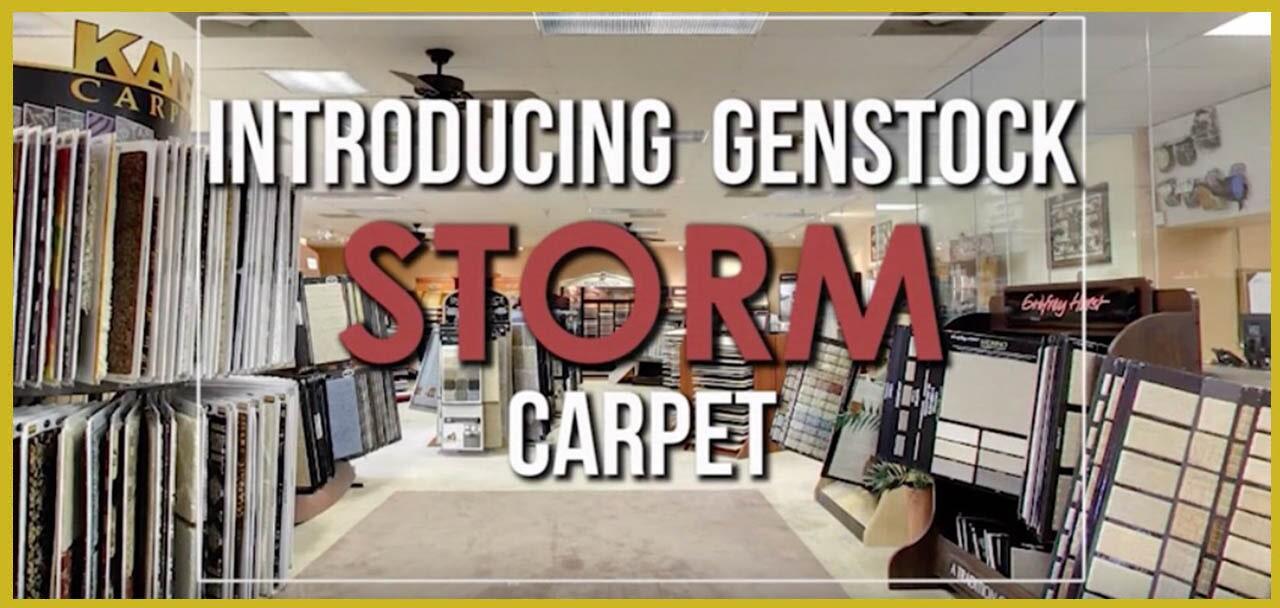 Introducing Genstock Storm carpet from General Floor in Hatboro, PA