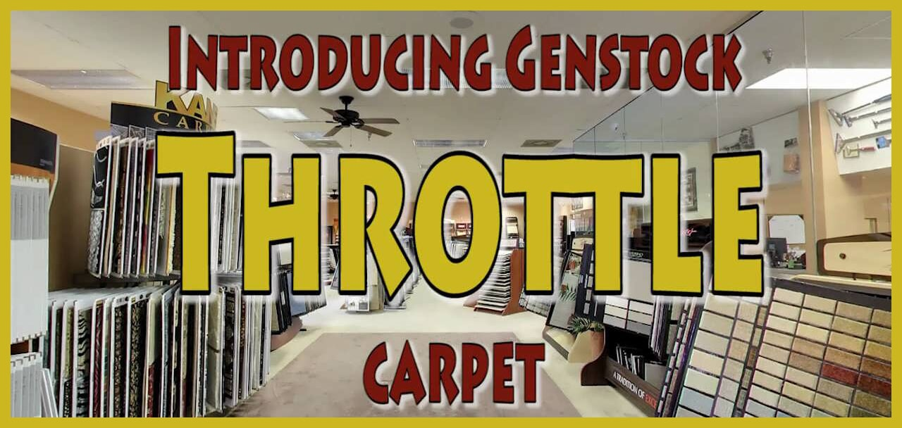 Introducing Genstock Throttle carpet from General Floor in Holmes, PA
