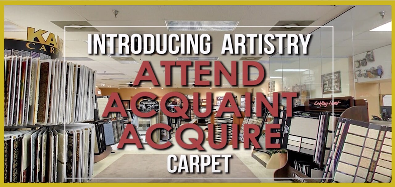 Introducing Artistry, Attend, Acquaint Acquire Carpet at General Floor in Edison, NJ