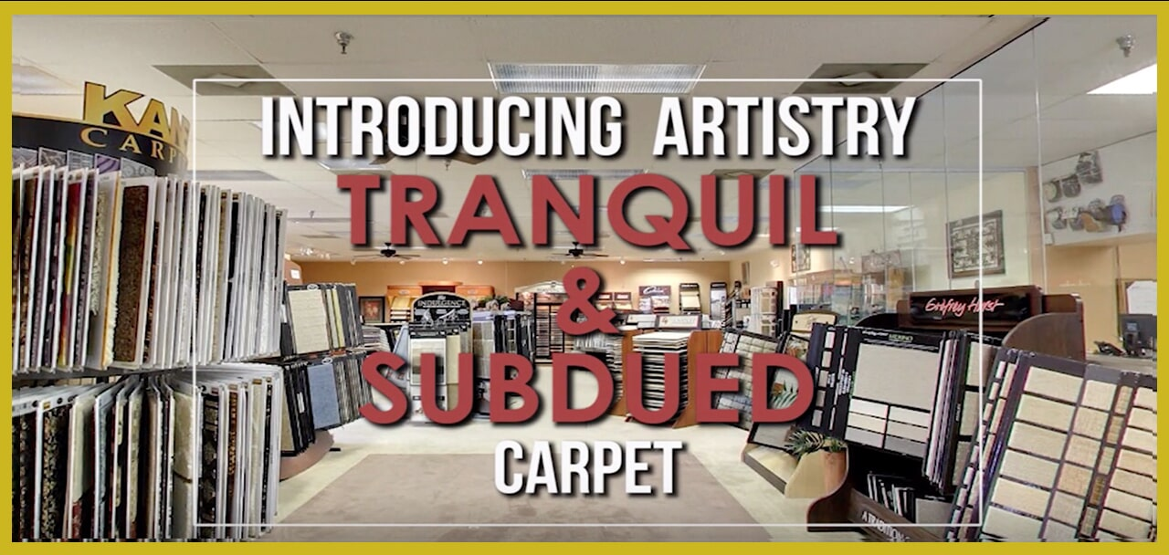 Introducing Artistry Tranquil & Subdued Carpet at General Floor in New Castle, DE