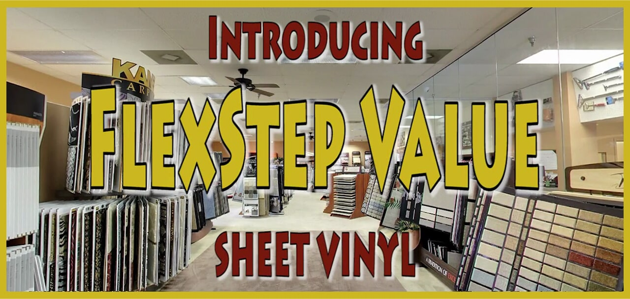 Introducing Flexstep Value sheet vinyl from General Floor in Bellmawr, NJ