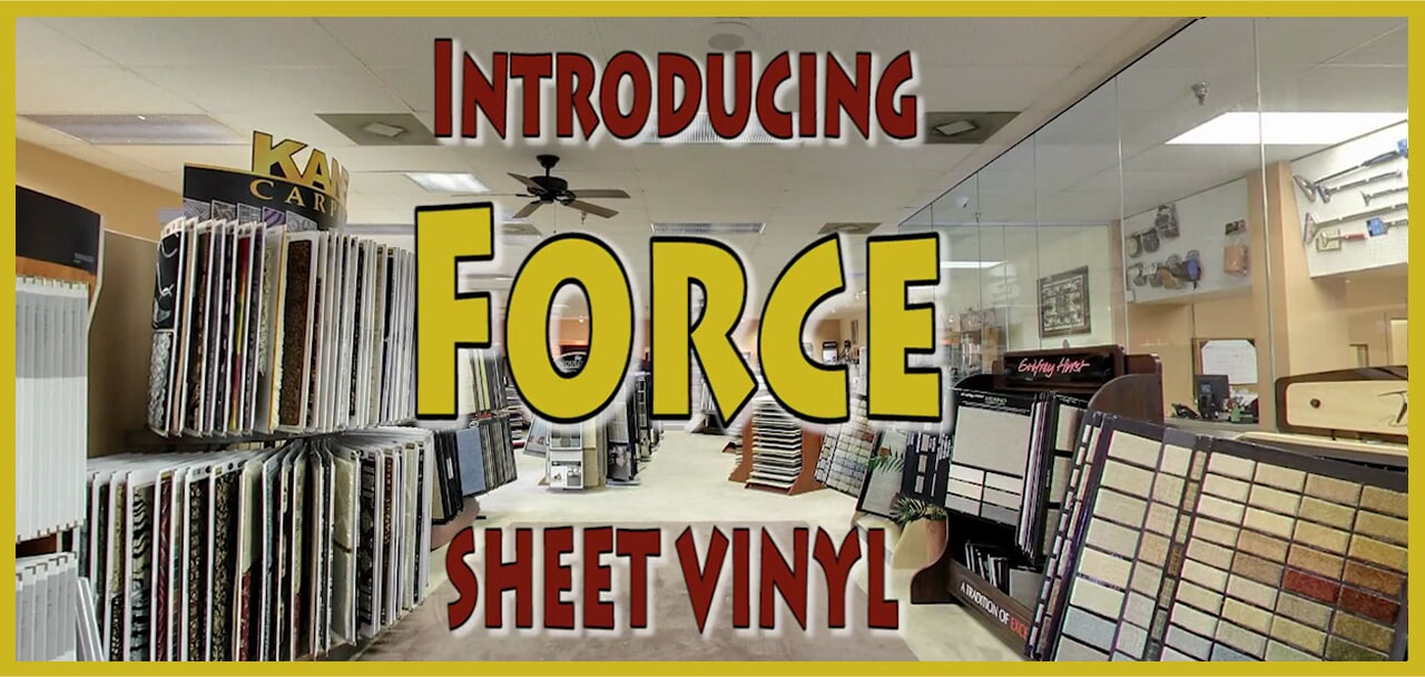 Introducing Force sheet vinyl from MP Contract Flooring in Hackensack, NJ