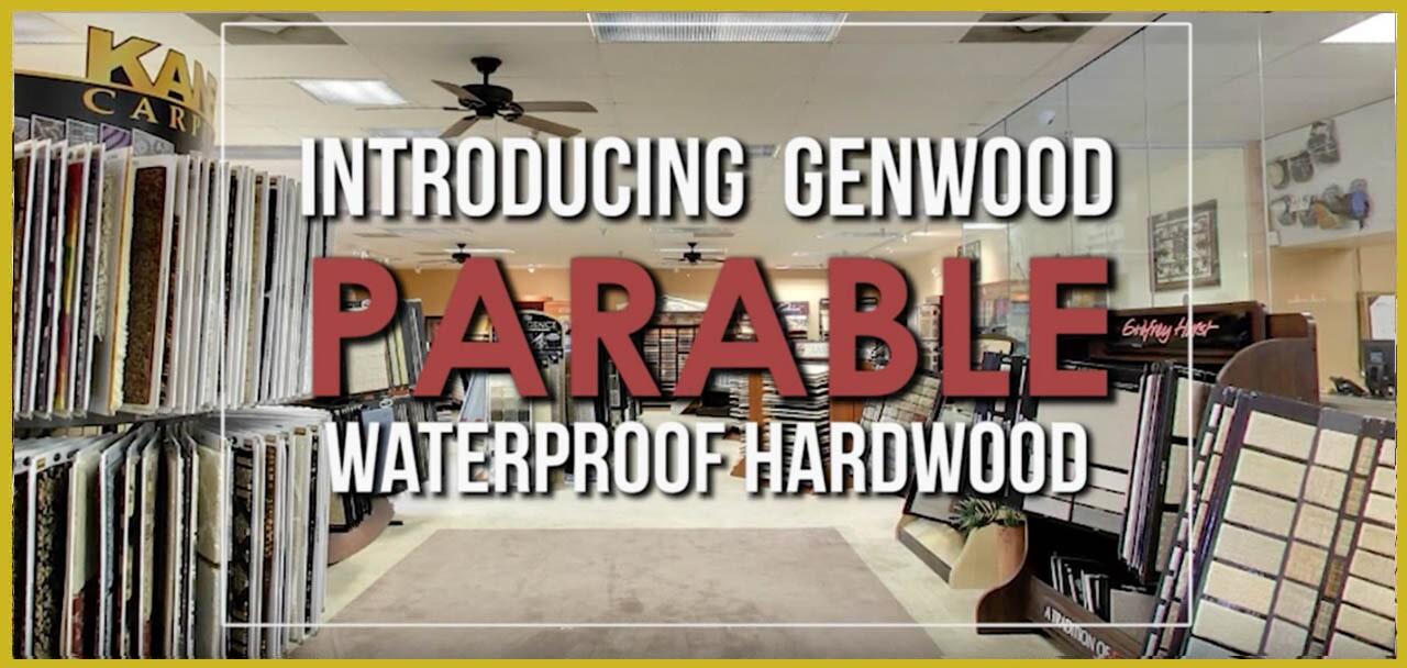 Introducing Genwood Parable Waterproof Hardwood at MP Contract Flooring in Kenilworth, NJ
