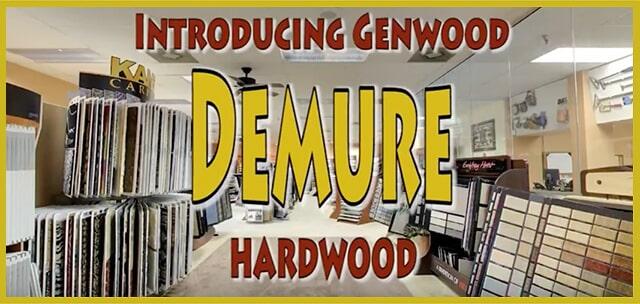 Introducing Genwood Demure Hardwood at MP Contract Flooring in Dover, DE