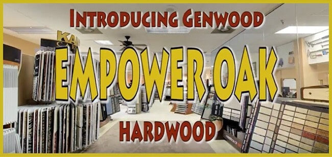 Introducing Genwood Empower Oak Hardwood at MP Contract Flooring in Lancaster, PA