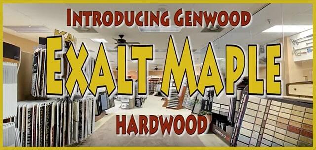Introducing Genwood Exalt Maple Hardwood at MP Contract Flooring in Edison, NJ