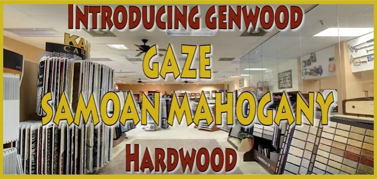 Introducing Genwood Gaze Samoan Mahogany Hardwood at MP Contract Flooring in Cherry Hill, NJ