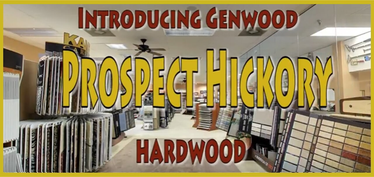 Introducing Genwood Prospect Hickory Hardwood at MP Contract Flooring in New Castle, DE