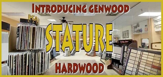 Introducing Genwood Stature Hardwood at MP Contract Flooring in Bensalem, PA