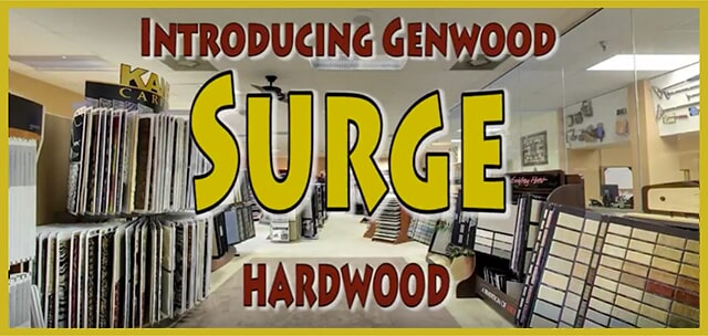 Introducing Genwood Surge Hardwood at MP Contract Flooring in Plymouth Meeting, PA