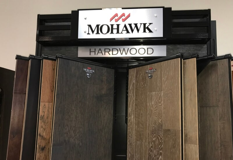 Mohawk Hardwood flooring from The Wholesale Flooring in Horry County, SC