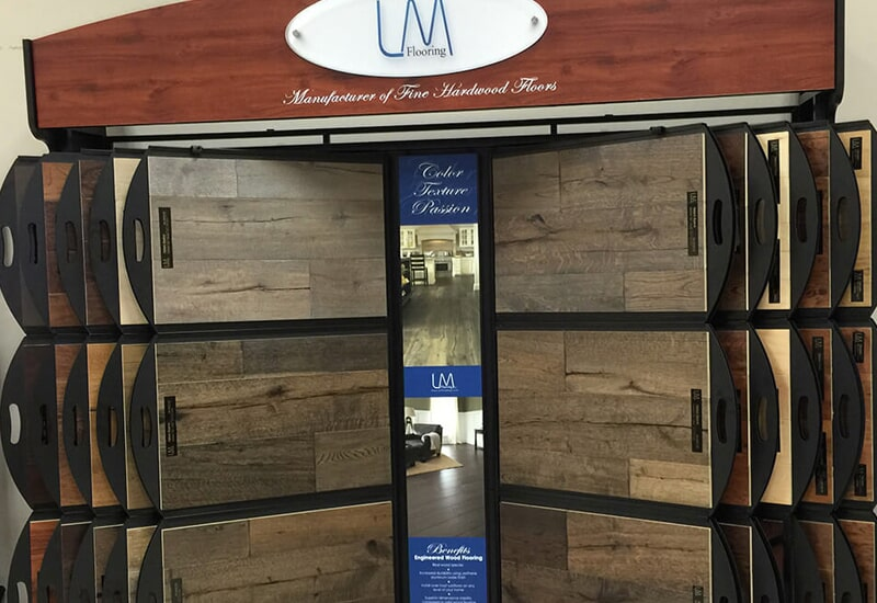 Hardwood flooring from The Wholesale Flooring in Southport, NC