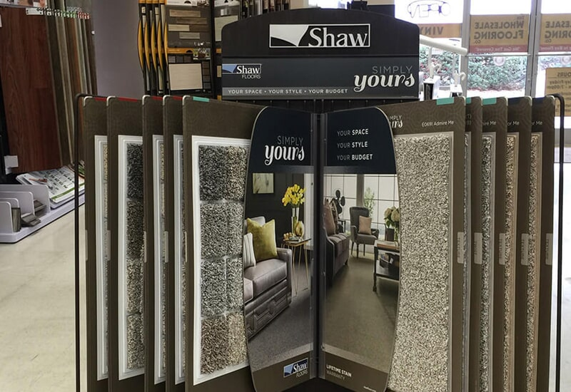 Shaw carpet from The Wholesale Flooring in Brunswick County, NC