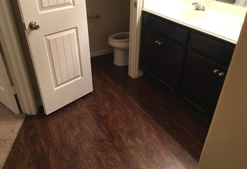 Luxury vinyl flooring from Houston Floor Installation Services in Katy, TX
