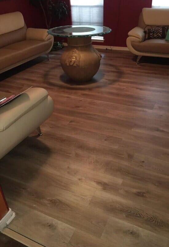 Hardwood flooring from Houston Floor Installation Services in Katy, TX