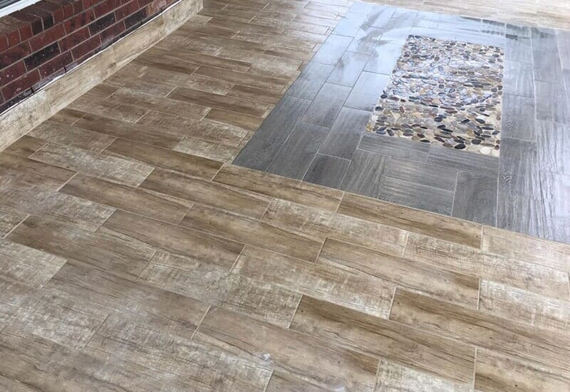 Tile flooring from Houston Floor Installation Services in Conroe, TX