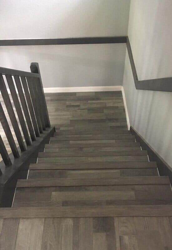 Luxury vinyl plank flooring from Houston Floor Installation Services in Spring, TX