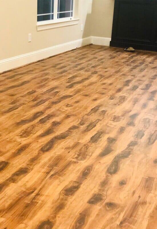 Vinyl flooring from Houston Floor Installation Services in Katy, TX