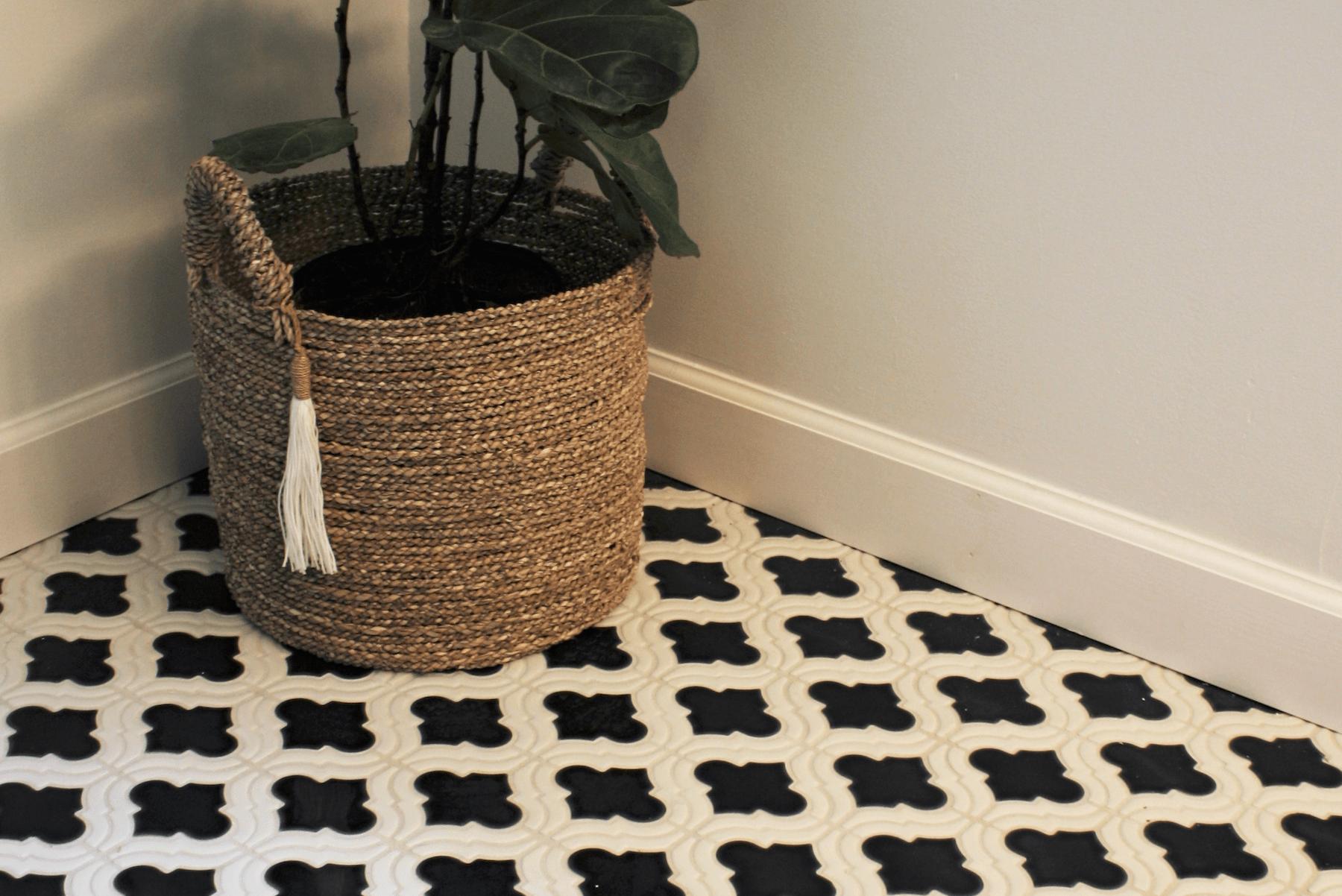 Custom tile backsplash in Mooresville, NC from LITTLE Wood Flooring & Cabinetry
