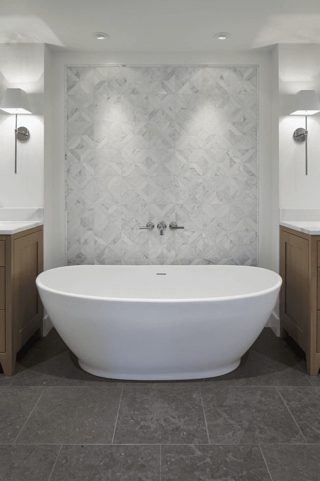 Soaking tub installation in Lake Oswego, OR from All Surfaces