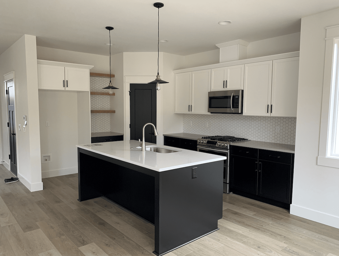 Modern kitchen remodel in Beaverton, OR from All Surfaces