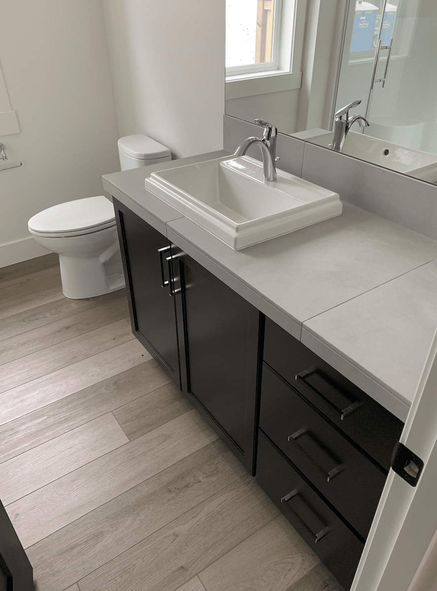 Modern bathroom vanity in Beaverton, OR from All Surfaces