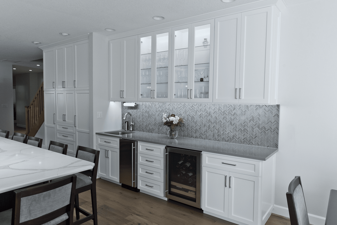 Tile backsplash installation in Lake Oswego, OR from All Surfaces