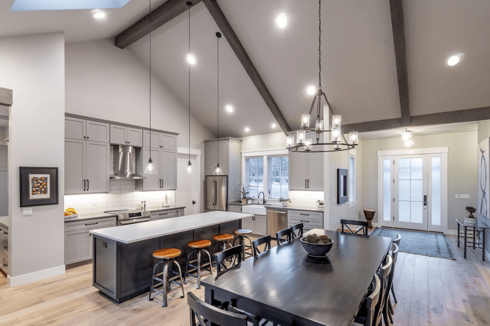 Gorgeous open concept kitchen in Sherwood, OR from All Surfaces