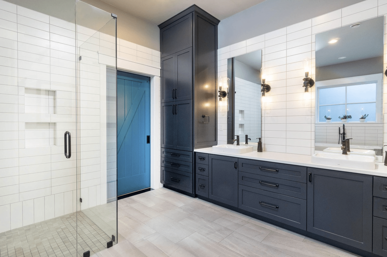 Custom bathroom cabinetry in Beaverton, OR from All Surfaces