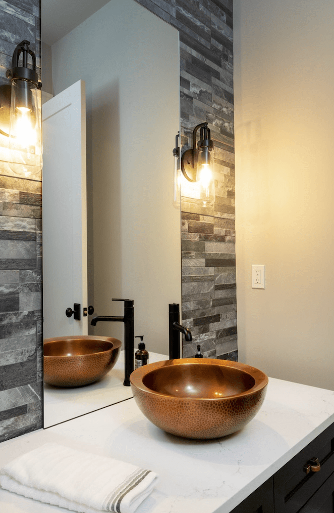 Stone accent wall in Portland, OR from All Surfaces