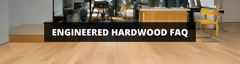Engineered Hardwood FAQ Banner