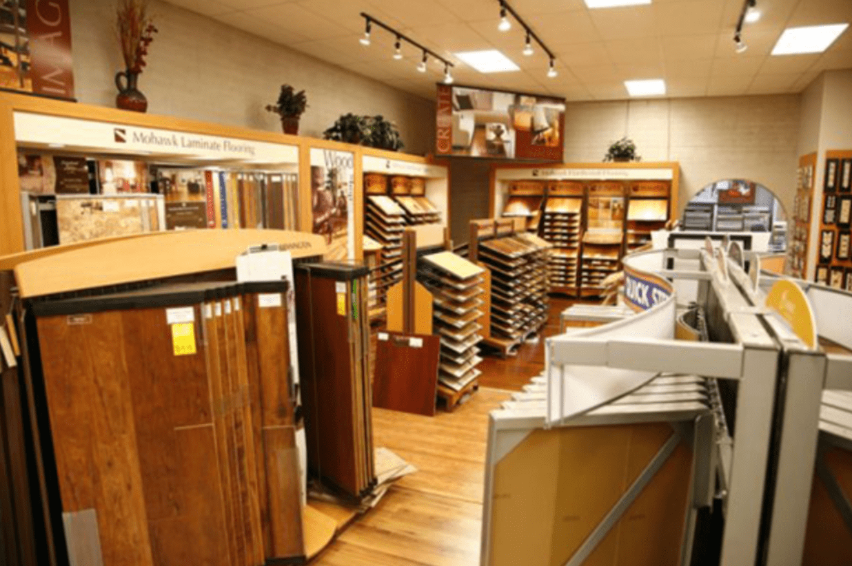 Highlands Floor Coverings showroom near Winslow, AZ