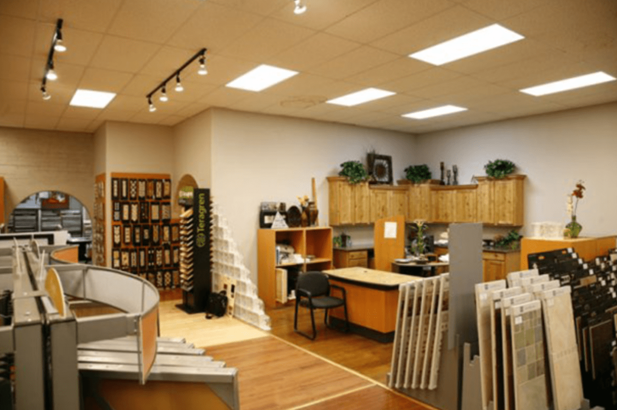 Highlands Floor Coverings showroom near Grand Canyon, AZ