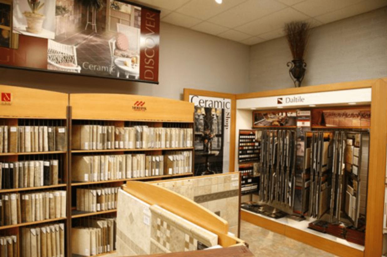 Highlands Floor Coverings showroom near Flagstaff, AZ