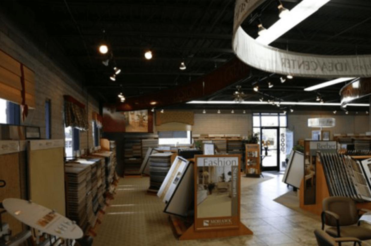 Highlands Floor Coverings showroom near Williams, AZ