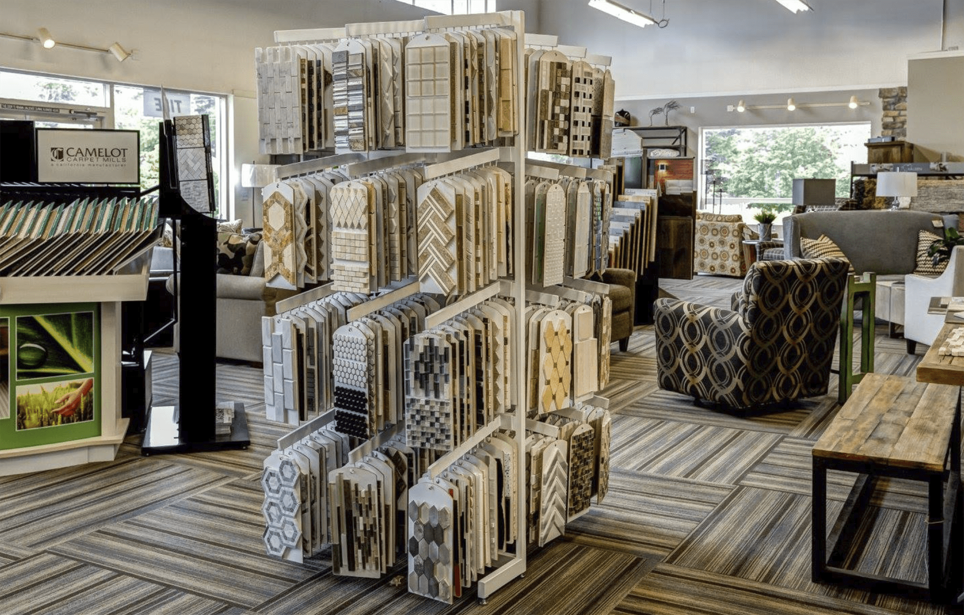 HomePort Interiors showroom near Bellingham, WA