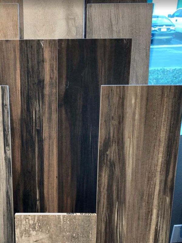 Dark wood look products for your Loma Linda, CA home from Simple Touch Interior Solutions