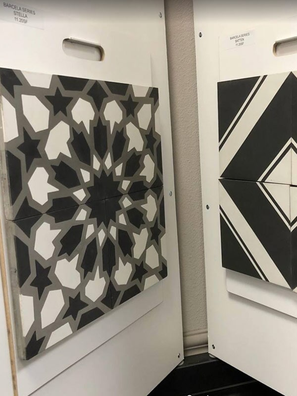 Geometric tile for your Loma Linda, CA home from Simple Touch Interior Solutions