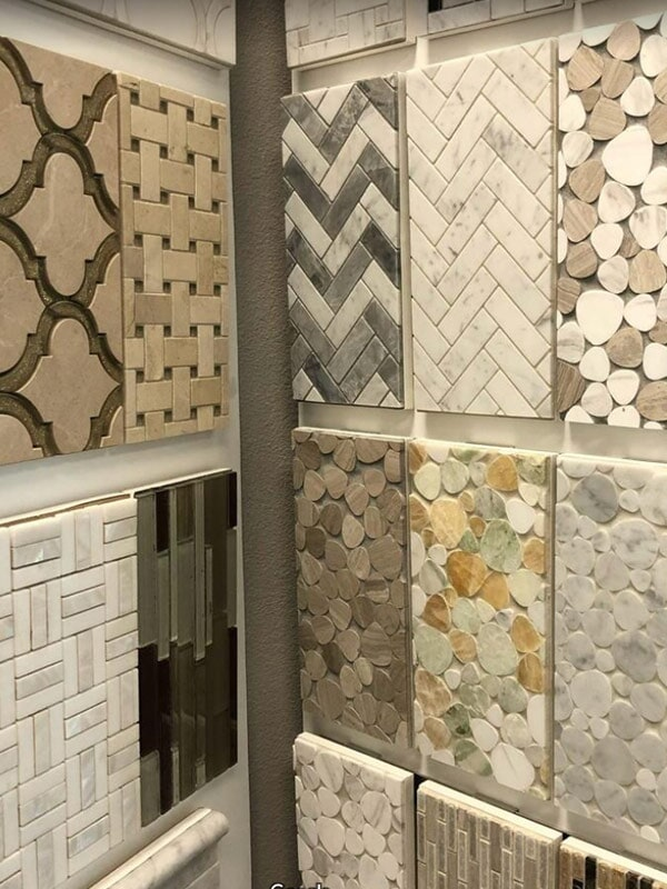 Natural accent tiles for your San Bernardino, CA home from Simple Touch Interior Solutions