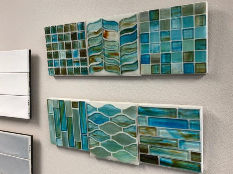 Beautiful glass tile for your Redlands, CA home from Simple Touch Interior Solutions