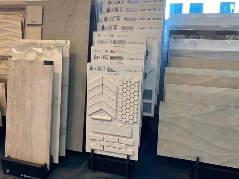 Glazzio tile for your Highland, CA home from Simple Touch Interior Solutions