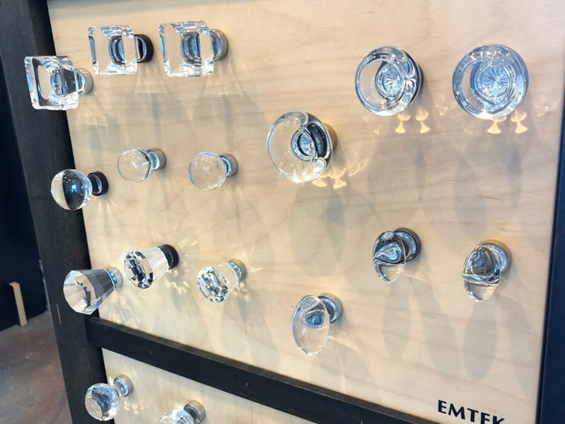 Emtek knobs for your Loma Linda, CA home from Simple Touch Interior Solutions