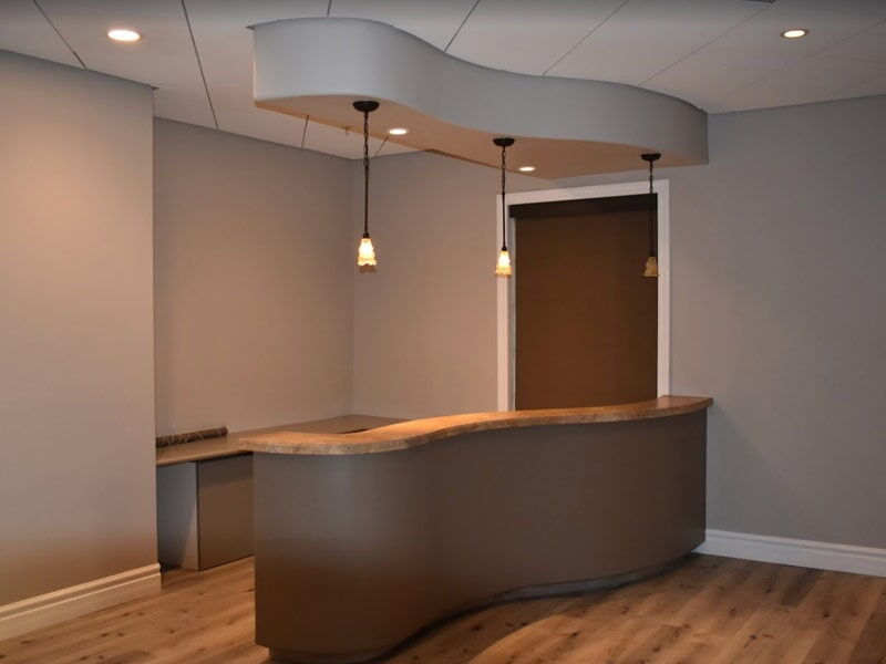 Custom bar installation in Highland, CA from Simple Touch Interior Solutions