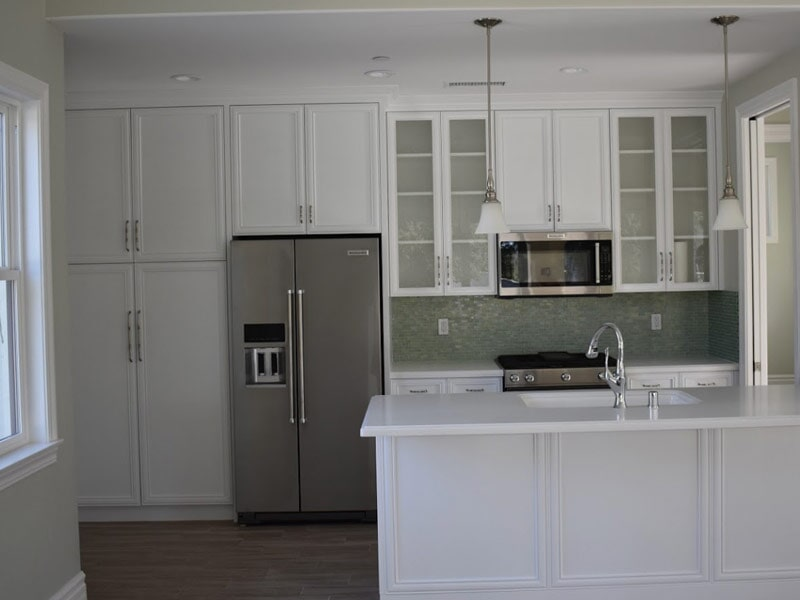Cabinet installation in Redlands, CA from Simple Touch Interior Solutions