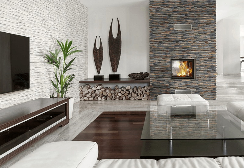 Tile accent walls in Highland, CA from Simple Touch Interior Solutions