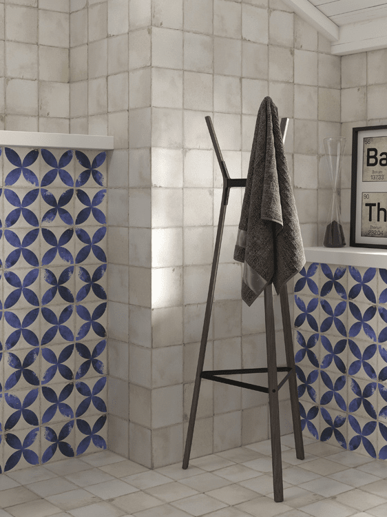 Classic tile bathroom in Highland, CA from Simple Touch Interior Solutions