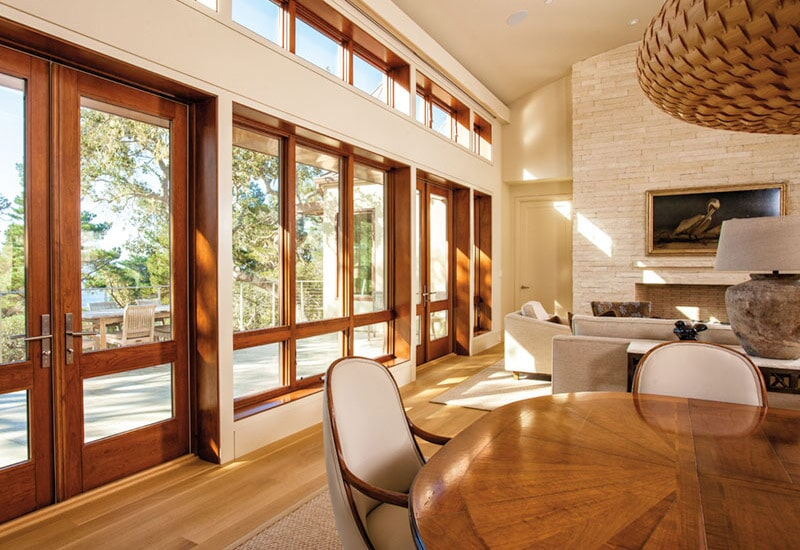 Wood frame windows in Redlands, CA from Simple Touch Interior Solutions