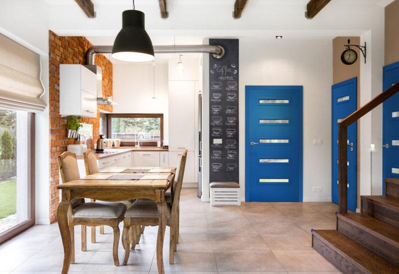 Modern interior doors in San Bernardino, CA from Simple Touch Interior Solutions